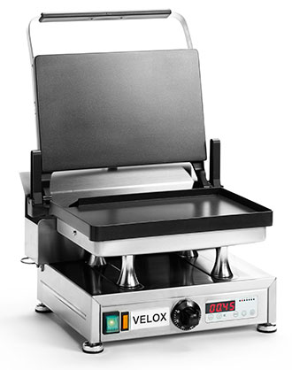 CG-1 - Single Velox Grill with Smooth cooking surfaces
